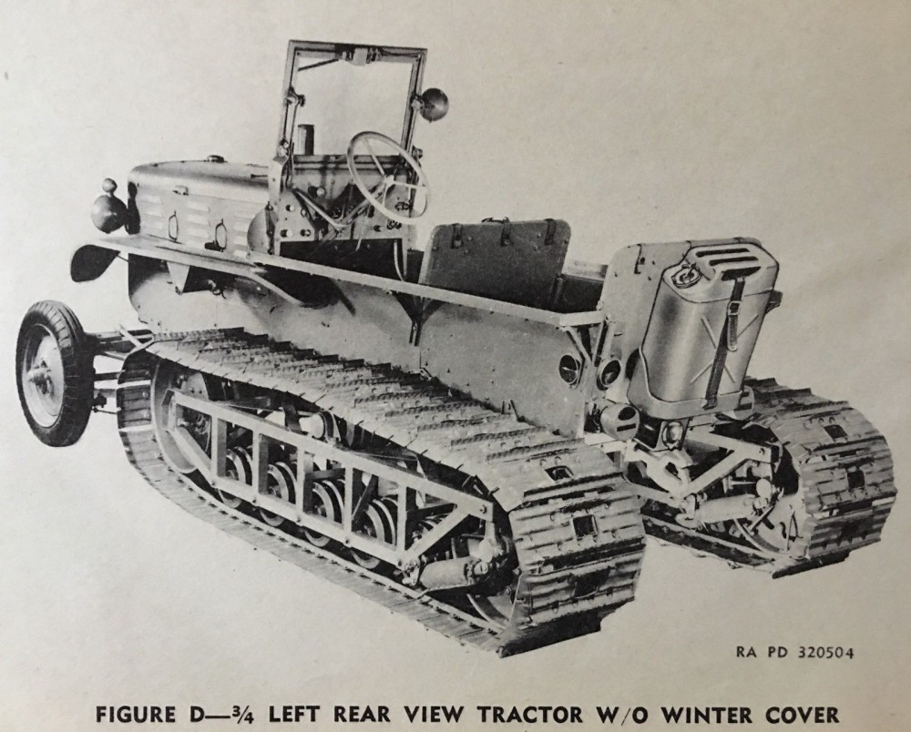 Allis-Chalmers G194 G195 M7 SnowTractor ORD 7 8 9 4