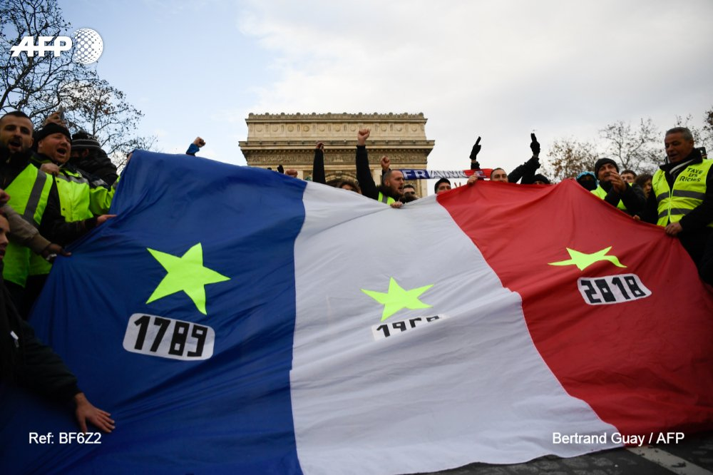 Великая французская революция 2018 года?