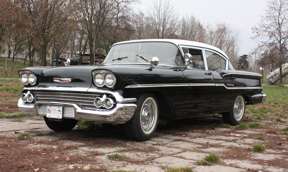 Chevrolet 1958. Ч-1. Скромное обаяние Дел Рея.