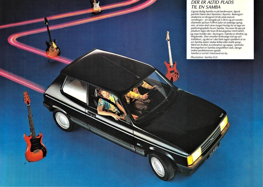 1984 Talbot Samba 0405 111