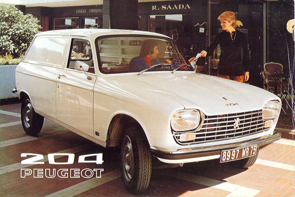 Peugeot 204 Fourgonnette 72 1