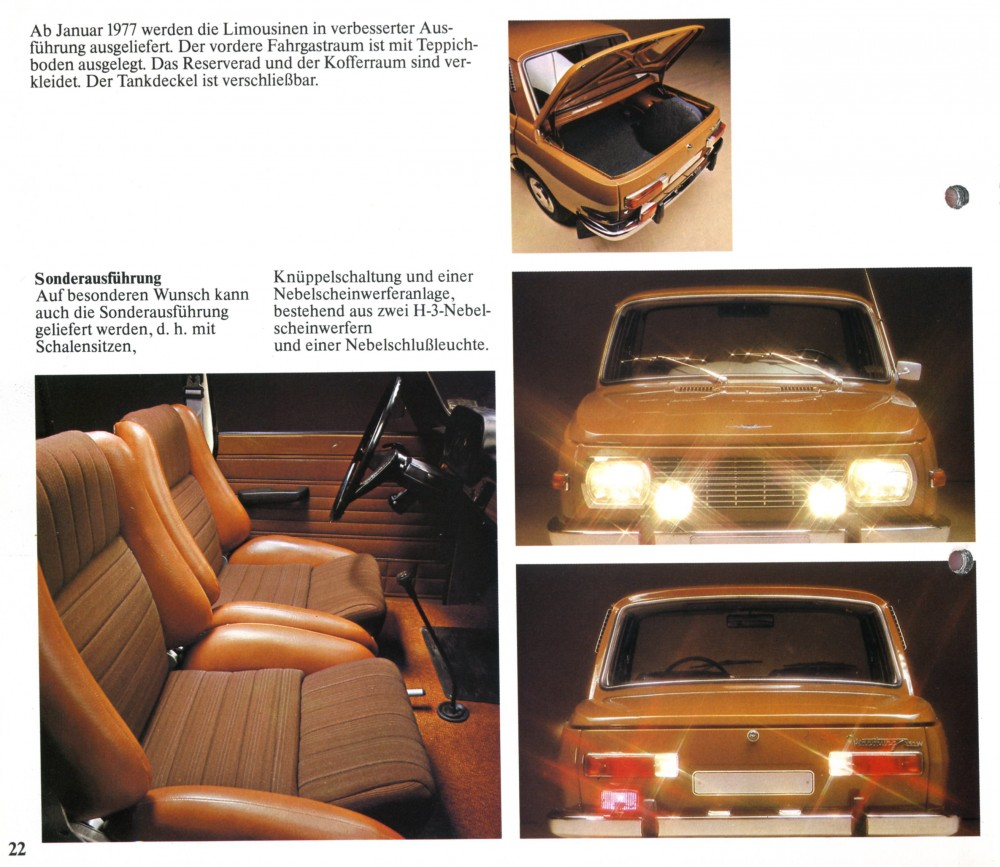 Genex-Auto 1977, Seite 22
