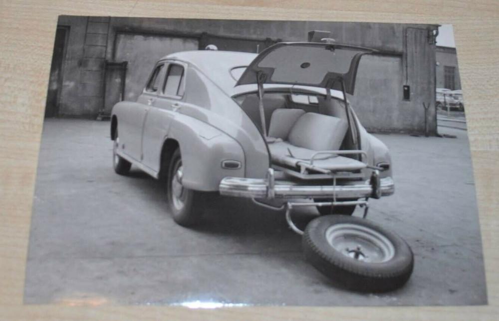 1959 FSO Warszawa 201-S Ambulance