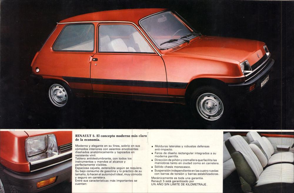 Renault 5 Mirage 1011