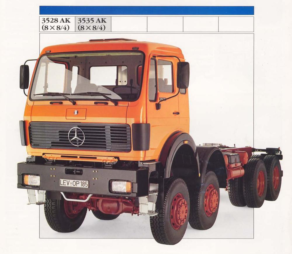 MB truck 3528 8x8