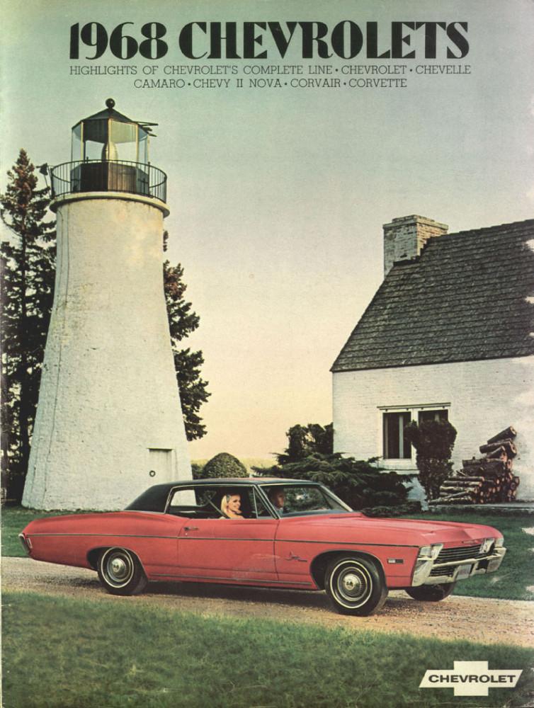 1968 Chevrolets Model Range Cars Brochure 01