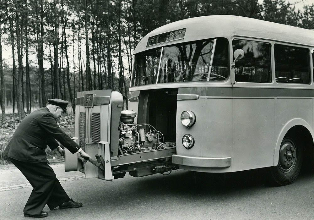 Uitschuifmotor DAF Verheul 1948 1