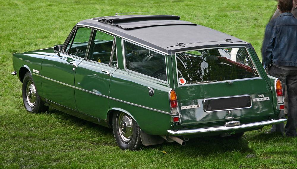 Rover_3500_Estate_rear