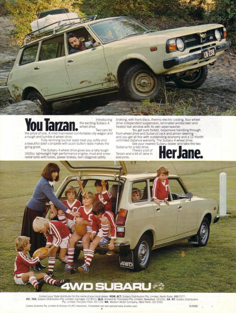 1978 Subaru 4WD Wagon Ad - Australia_o