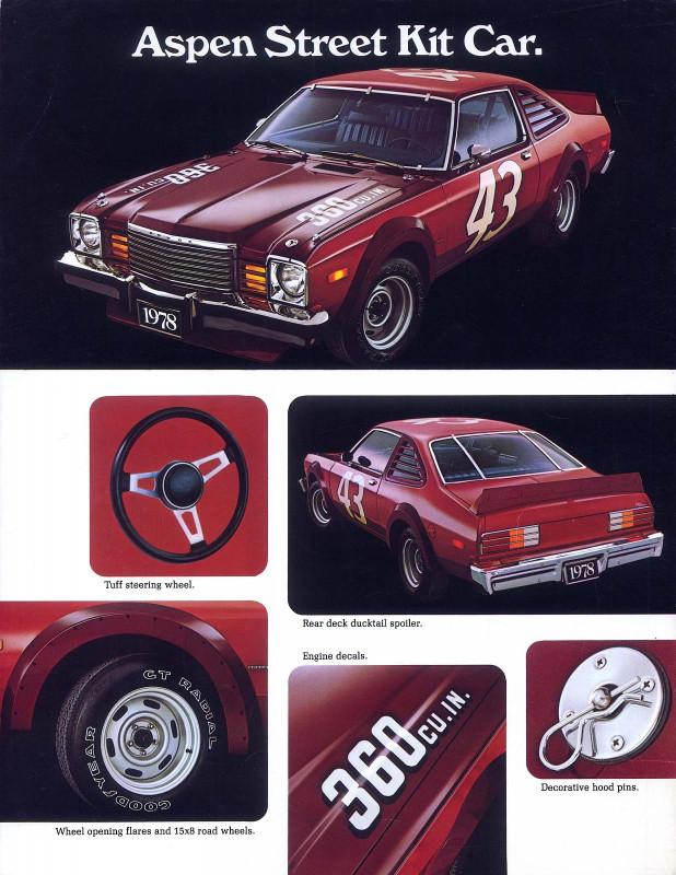 1978 Dodge Aspen Street Kit Poster-01