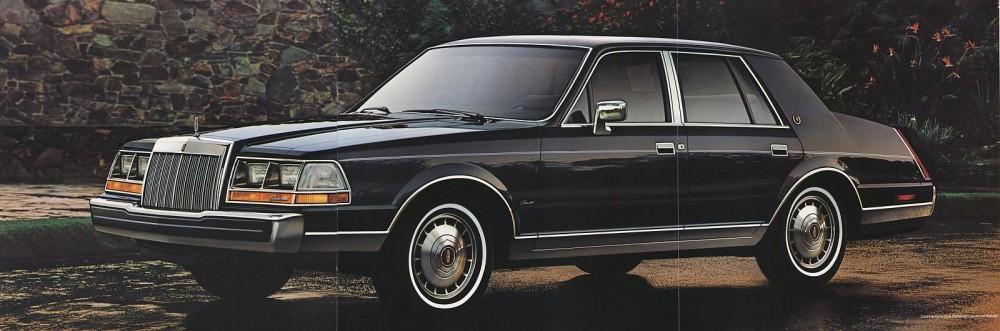 1985 Lincoln Full Line Prestige-27-28-29