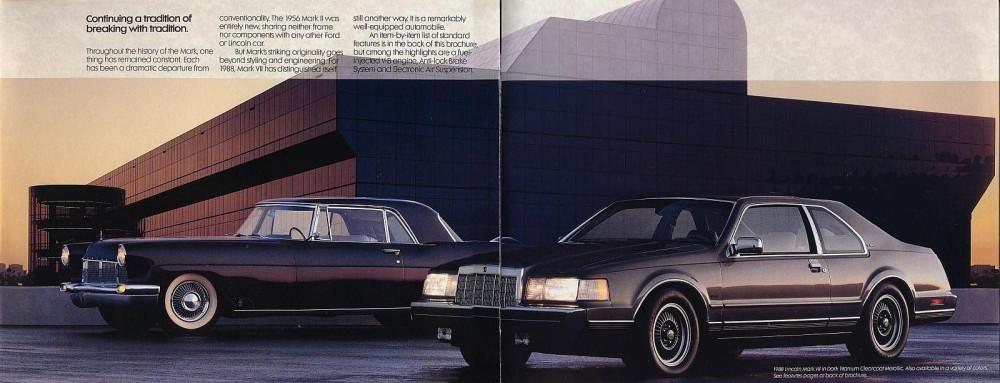 1988 Lincoln Mark VII-13-14