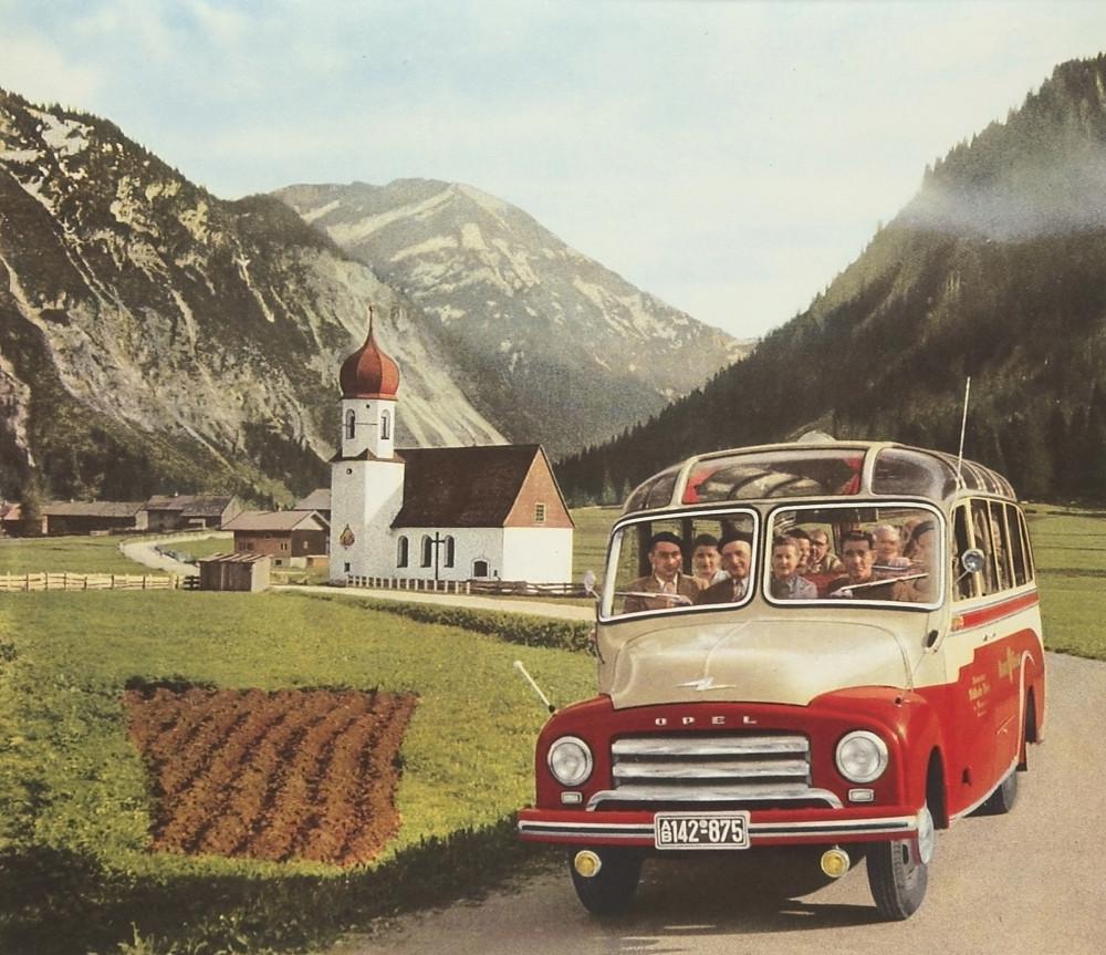 Opel Biltz 1,75 to. Omnibus, 19522
