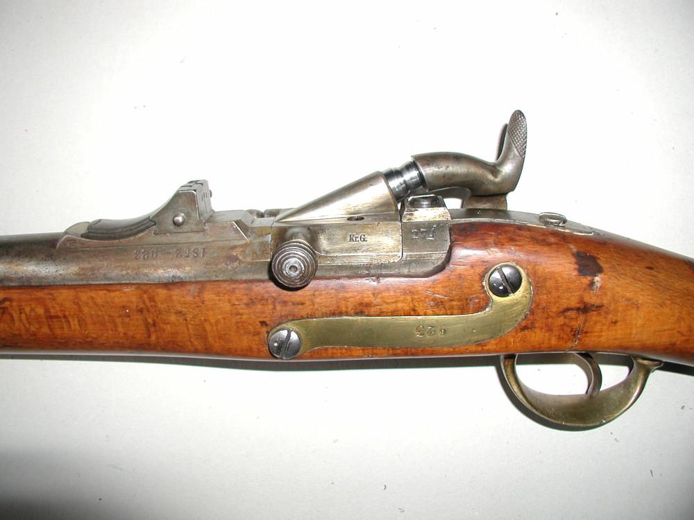Dorn03Dänische Dornbüchse M1848
