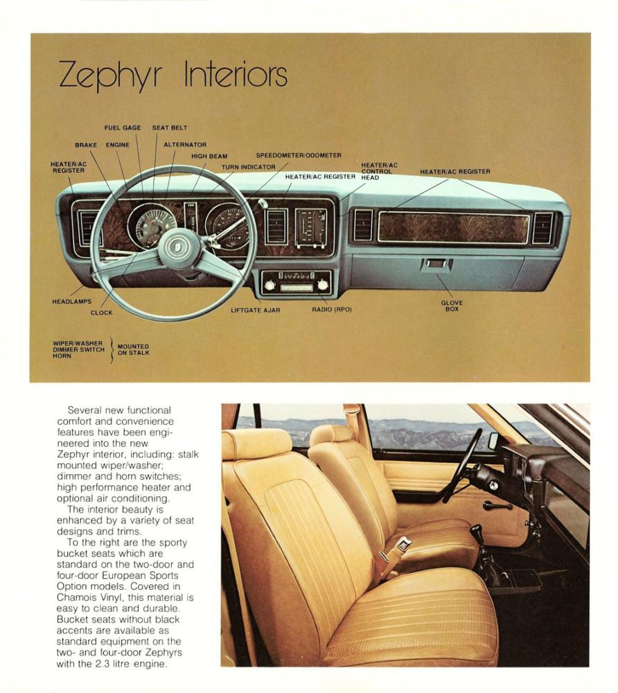 1978 Mercury Zephyr VIP-16