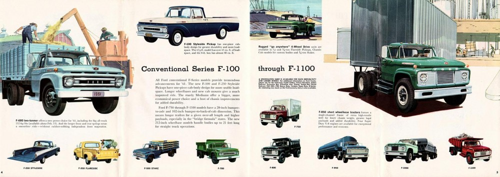 Conventional Ford 1961 года