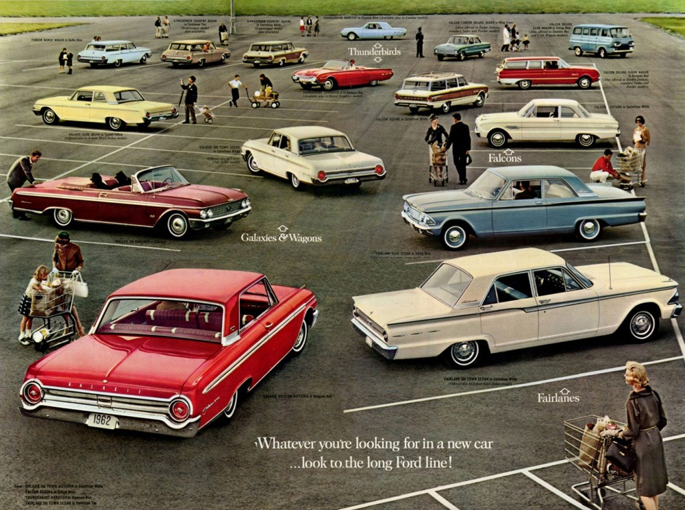 1962 Ford Full Line Foldout (61-09)-Side B