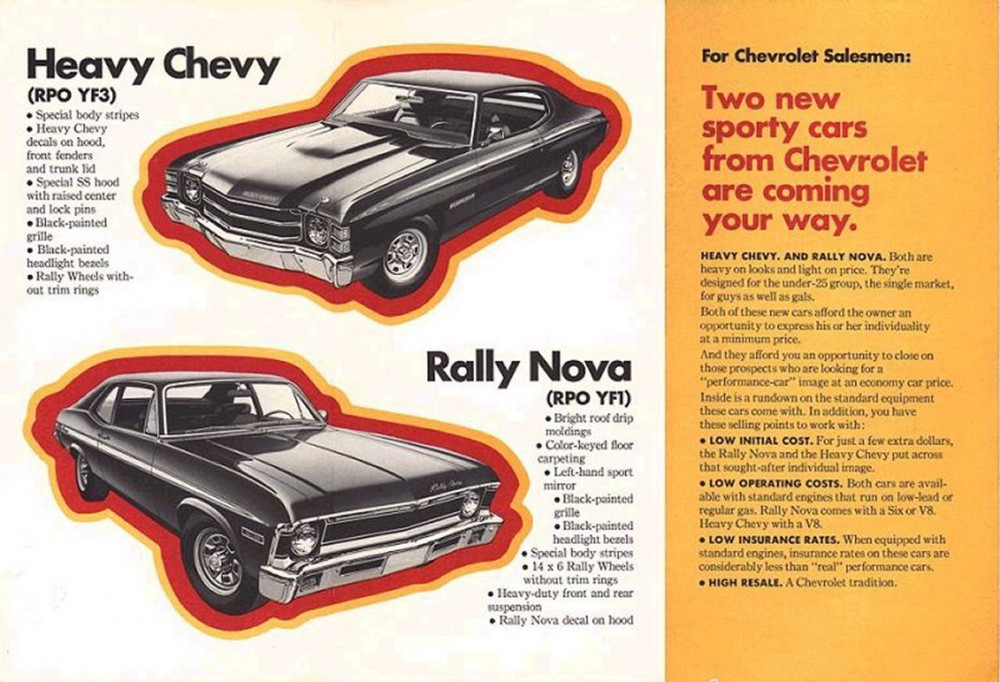 1971 Heavy Chevy and Rally Nova