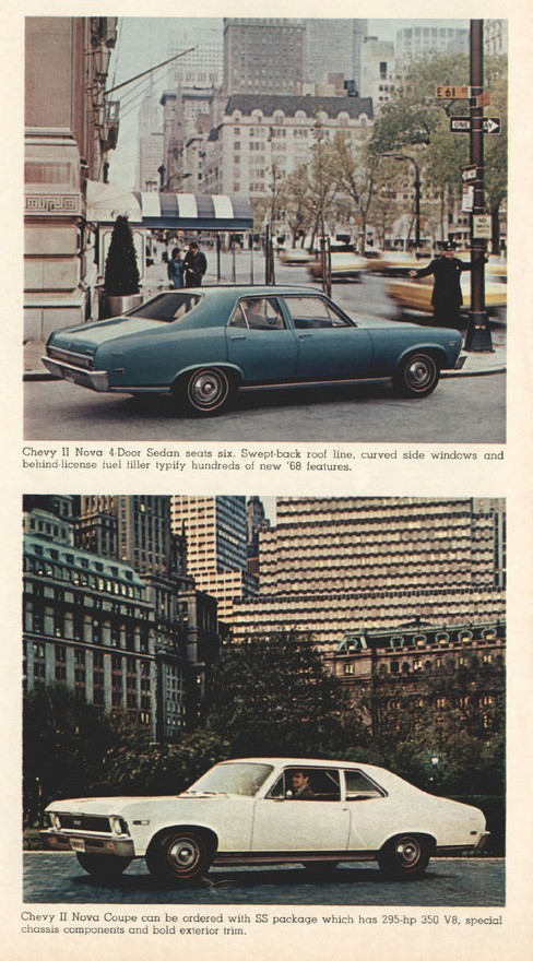 1968 Chevrolets Model Range Cars Brochure 06
