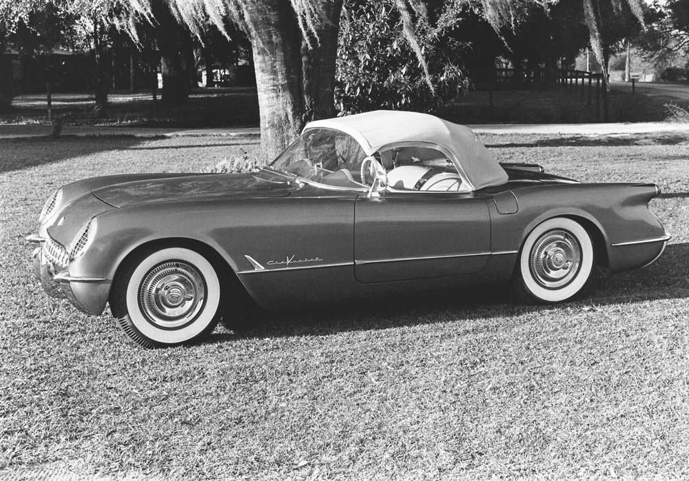 Corvette С1. Пластмассовая ванна и Дантов-суперкар.