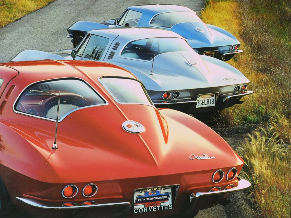 1963, 64, 67 Chevrolet Corvette Coupes Rr Qtr Clips