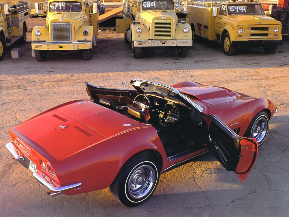1968 Chevrolet Corvette L-88 427 Convertible Red Rt Rr Qtr