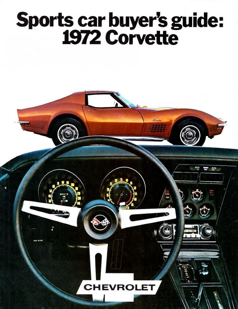 1972 Chevrolet Corvette Foldout-01
