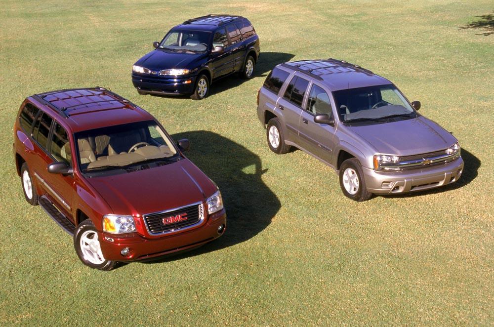 Закрытый пикап или универсал кабриолет? Envoy, литра, криворукости, шесть, моторы, Основные, Motors, General, маркетинга, Разнообразие, цилиндров, отделения, закрытия, незадолго, Bravada, Oldsmobile, выше, TrailBlazer, Chevrolet, вследствии