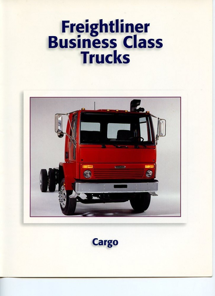 Freightliner (Ford) Cargo Truck Brochure, 1998