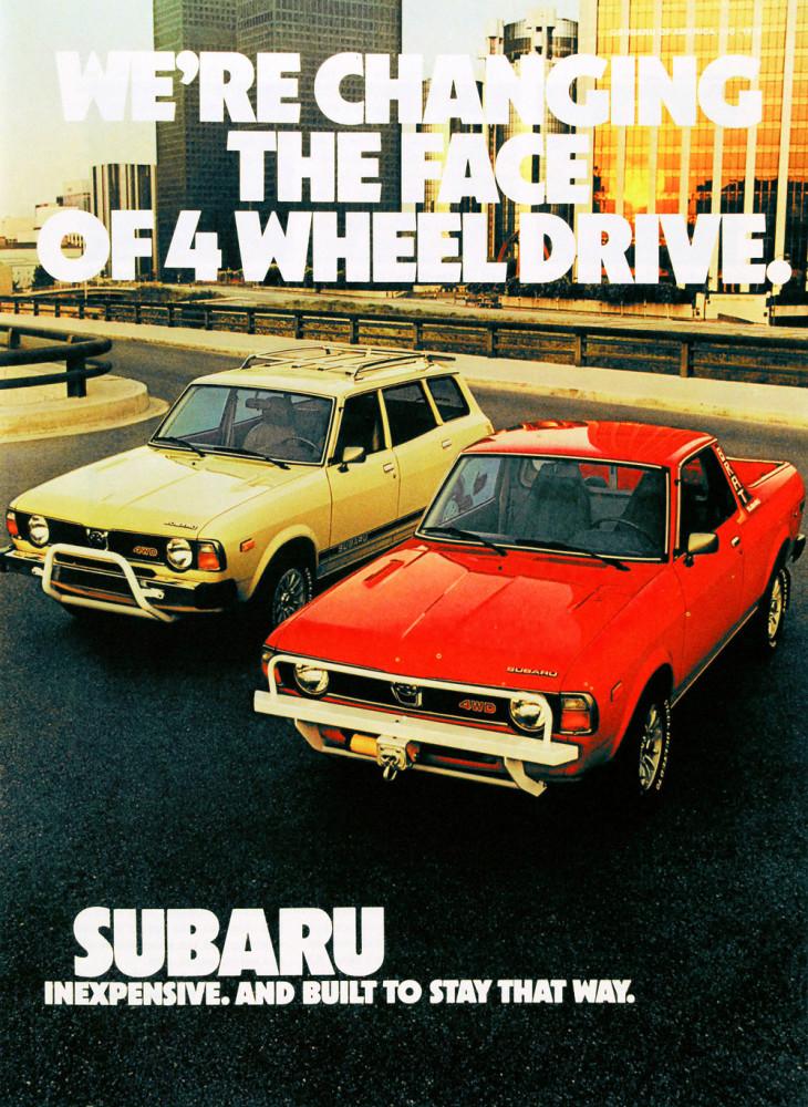Subaru 1979 ads
