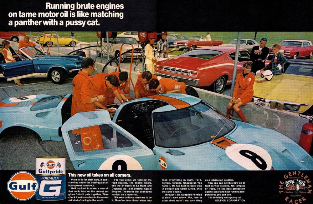 GULF AD GT40 RESTORED
