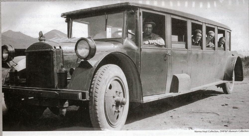 Низкопольный автобус из 20-х