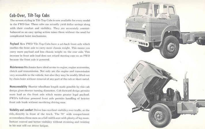 1958 FWD Truck Prestige Sales Brochure
