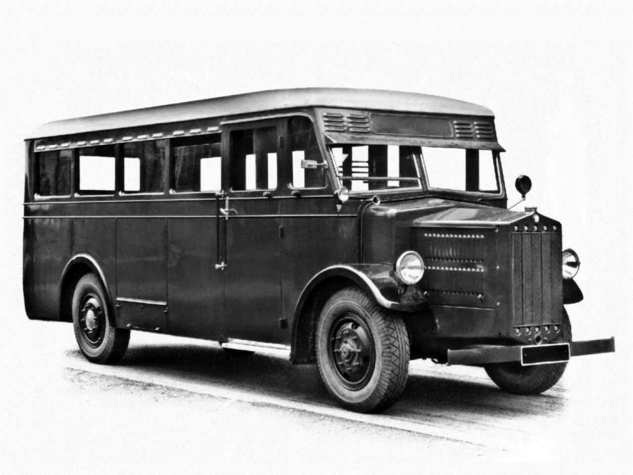 1931 Tatra T27 Bus 001