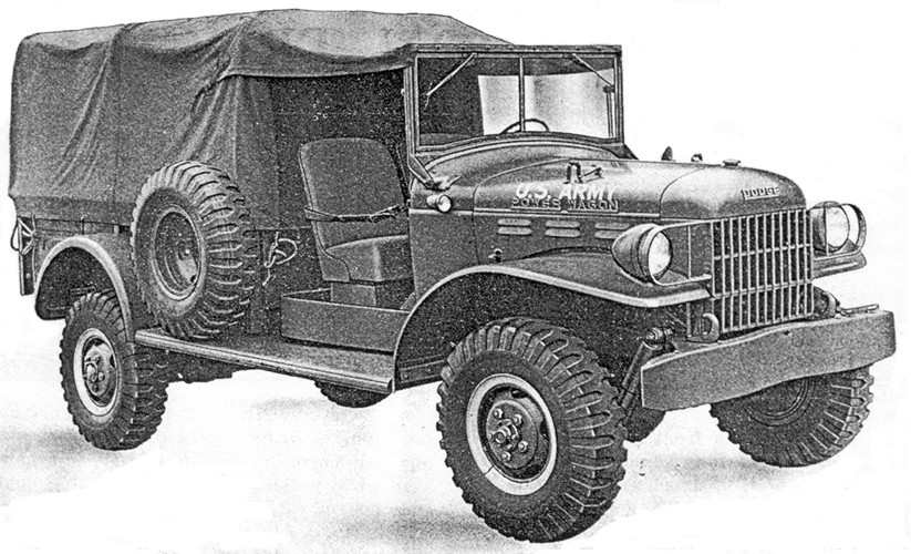 Dodge Power не Wagon
