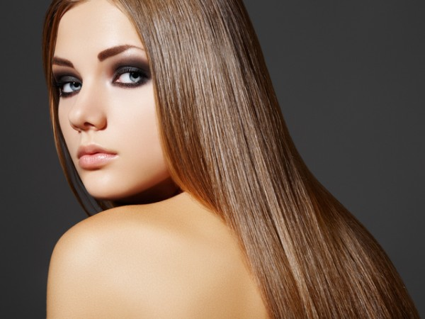 Прямые волосы2