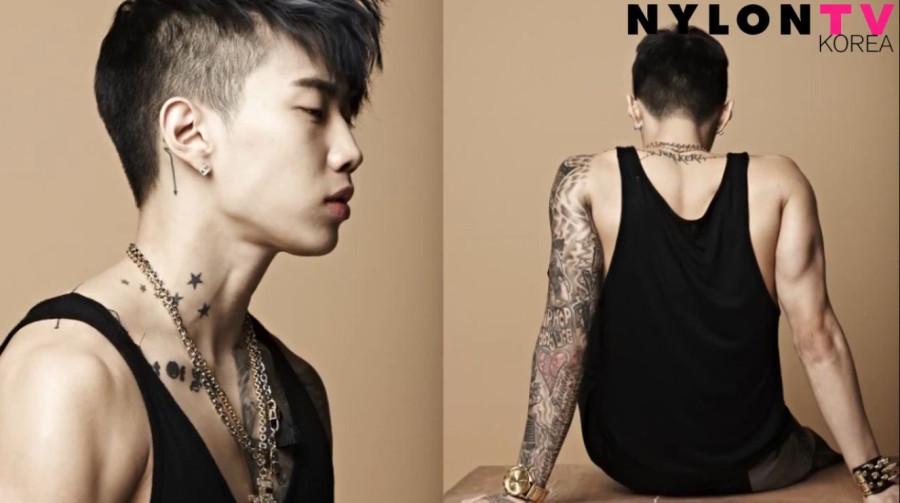 jay park nylon photoshoot new tattoo by far his best