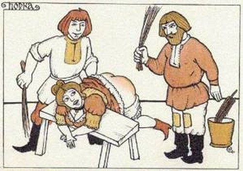 каким образом и каким предметом кабардинцы наказывает свою жену - 1
