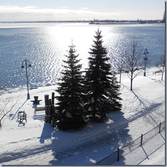 lakewalk winter