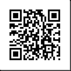 Blogger QR code