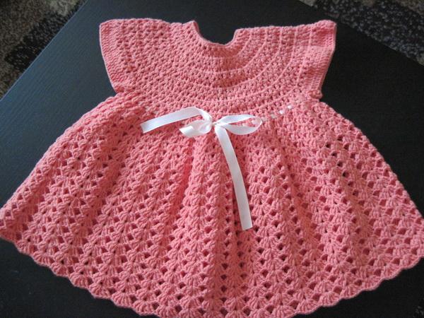 Платье Малышке Крючок 37