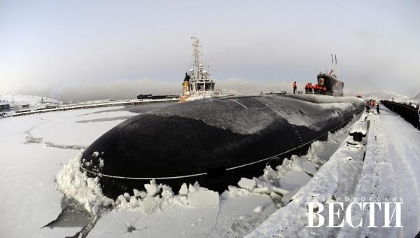 атомная подводная лодка в мурманске фото