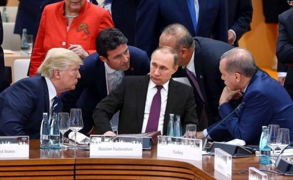 Путин в мировой изоляции