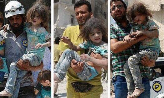 Девочка Бана Сирия
