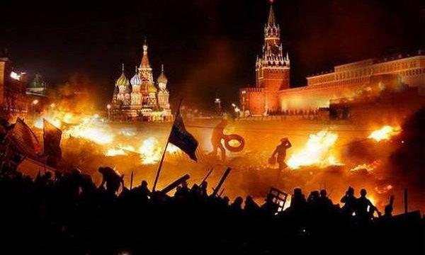 Сжечь Кремль революцией