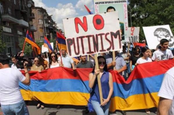 Россия ноу Путинизм в армении