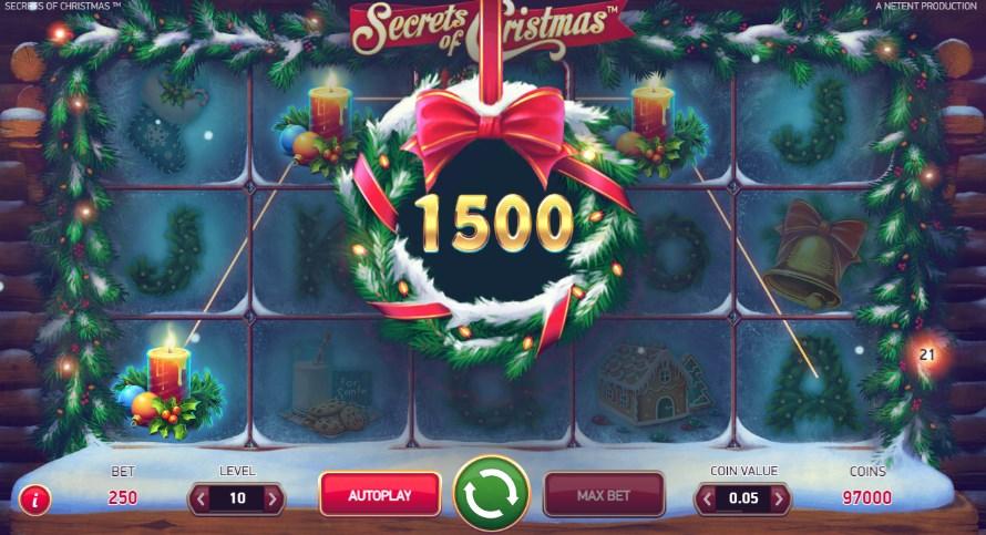 Игровой автомат «Secrets of Cristmas»