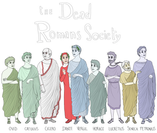 Dead Romans Society title page
