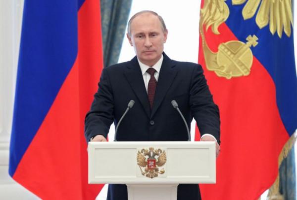 президент Путин