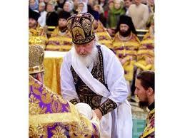 омовение ног-патриарх